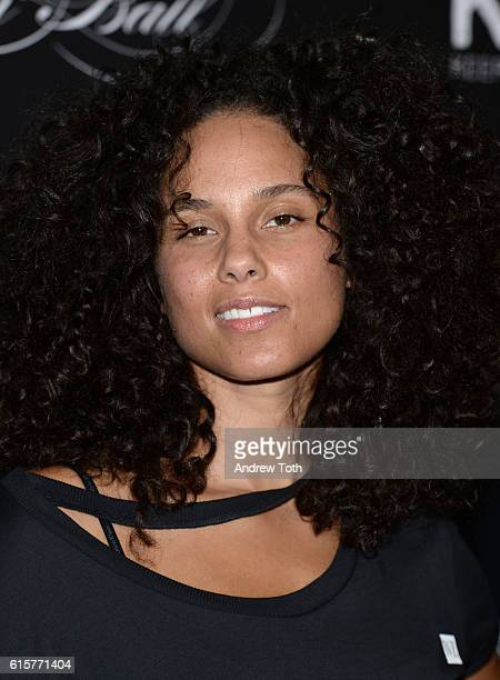 Alicia Keys attends Keep a Child Alive's 13th annual Black Ball at Hammerstein Ballroom on October 19 2016 in New York City