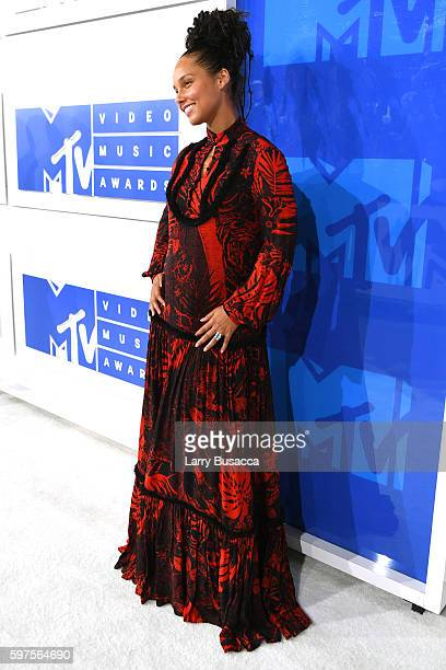 Alicia Keys attends the 2016 MTV Video Music Awards at Madison Square Garden on August 28 2016 in New York City