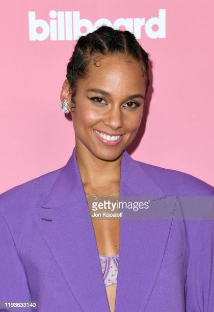 Alicia Keys attends the 2019 Billboard Women In Music at Hollywood Palladium on December 12 2019 in Los Angeles California