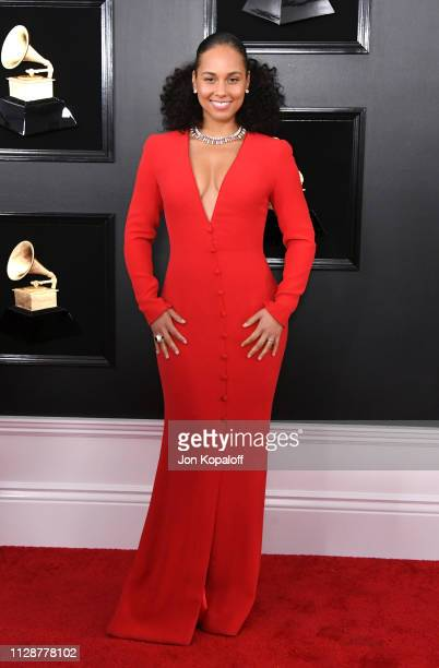 Alicia Keys attends the 61st Annual GRAMMY Awards at Staples Center on February 10 2019 in Los Angeles California