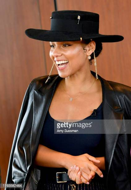 Alicia Keys attends the Billboard x Amex Impact Brunch on December 12, 2019 at The West Hollywood EDITION in West Hollywood, California.