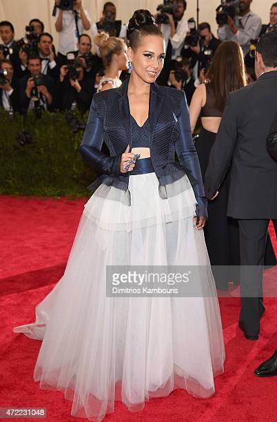 Alicia Keys attends the China Through The Looking Glass Costume Institute Benefit Gala at the Metropolitan Museum of Art on May 4 2015 in New York...