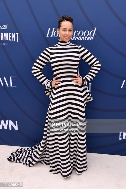 Alicia Keys attends The Hollywood Reporter's Empowerment In Entertainment Event 2019 at Milk Studios on April 30 2019 in Los Angeles California
