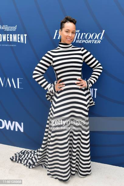Alicia Keys attends The Hollywood Reporter's Empowerment In Entertainment Event 2019 at Milk Studios on April 30, 2019 in Hollywood, California.