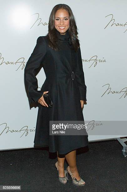 7bb46399d Alicia Keys attends the Max Azria Fashion Show during MercedesBenz Fashion  Week Fall 2009 in New