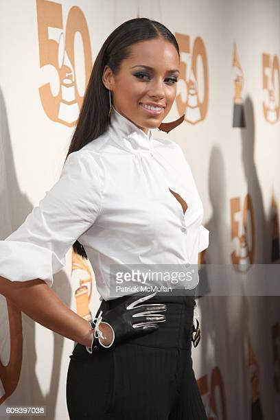 Alicia Keys attends THE RECORDING ACADEMY New York Chapter Pays Tribute to BON JOVI ALICIA KEYS DONNIE McCLURKIN and the Creators of WEST SIDE STORY...