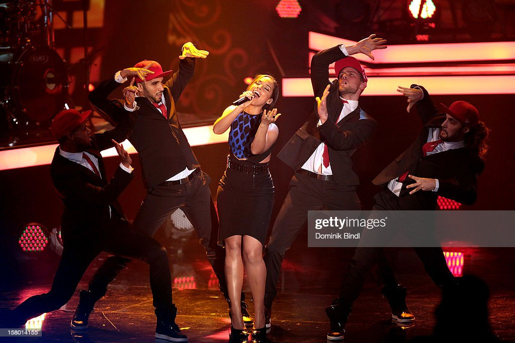 Alicia Keys attends 'Wetten dass..?' From Freiburg on December 8, 2012 in Freiburg im Breisgau, Germany.