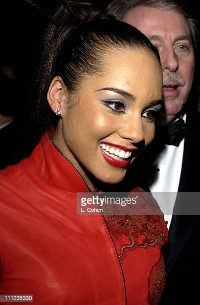 Alicia Keys during 2003 Clive Davis PreGRAMMY Party Inside at The Regent Wall Street in New York City New York United States
