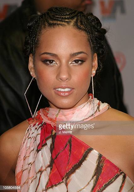 Alicia Keys during 2003 Vibe Awards Arrivals at Santa Monica Civic Auditorium in Santa Monica California United States