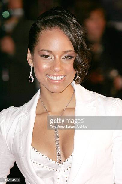 Alicia Keys during 2005 NRJ Music Awards Arrivals at Palais des festivals in Cannes France