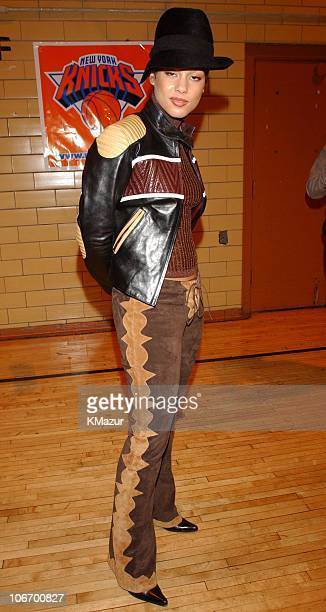 Alicia Keys during 2nd Annual Knicks 'Promote the Quote' honoring the Legacy of Martin Luther King Jr at Renaissance Military Leadership Academy in...