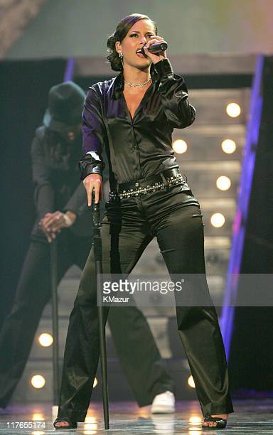 Alicia Keys during 32nd Annual American Music Awards Show at Shrine Auditorium in Los Angeles California United States