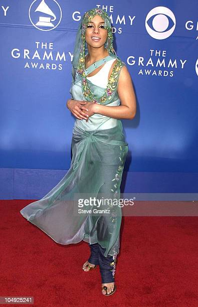 Alicia Keys during 44th GRAMMY Awards Arrivals at Staples Center in Los Angeles California United States