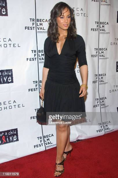 Alicia Keys during 6th Annual Tribeca Film Festival We Are Together After Party at Tribeca Grand Hotel in New York City New York United States