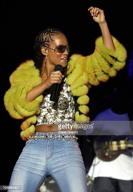 Alicia Keys during Alicia Keys In Concert At the Greek Theater at Greek Theater in Los Angeles California United States