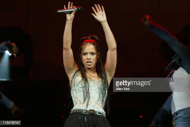 Alicia Keys during Alicia Keys Performs in The Verizon Ladies First Tour at Office Depot Center in Fort Lauderdale Florida United States