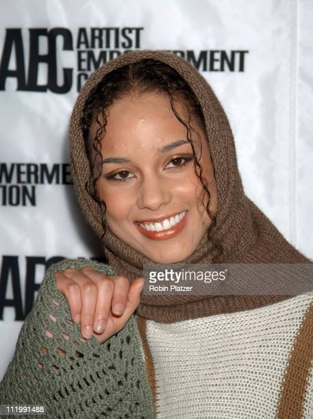 Alicia Keys during Artist Empowerment Coalition Luncheon Honoring the Nominees of the 45 Annual Grammy Awards Robin Platzer at New York Hilton Hotel...