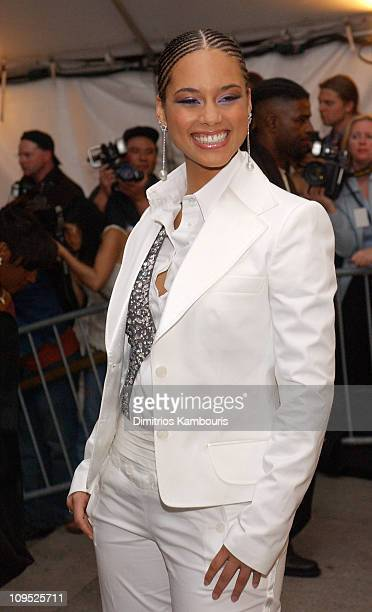 Alicia Keys during Costume Institute Benefit Dance Party of the Year Arrivals at Metropolitan Museum of Art in New York City New York United States