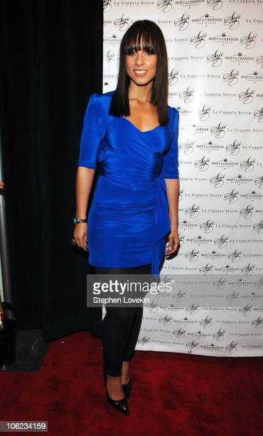 Alicia Keys during Jeremy Piven Hosts the Launch of Common's New Hat Line, Soji at 246 Mott Street in New York City, New York, United States.