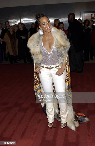 Alicia Keys during Kennedy Center Honors 2002 at Kennedy Center in Washington DC United States