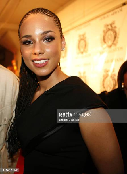 Alicia Keys during 'KrucialKeyscom' Launch Party Arrivals at The Loft in New York City New York United States