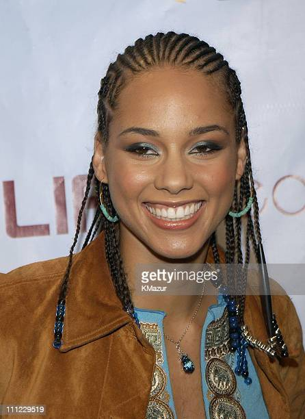 Alicia Keys During LIFEBeats Urban AID 2 Benefit Concert At Beacon Theater In New York City