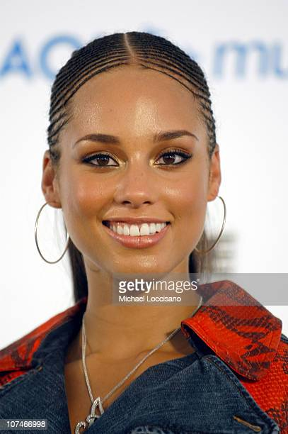 Alicia Keys during LIVE 8 Philadelphia Press Room at Philadelphia Museum of Art in Philadelphia Pennsylvania United States