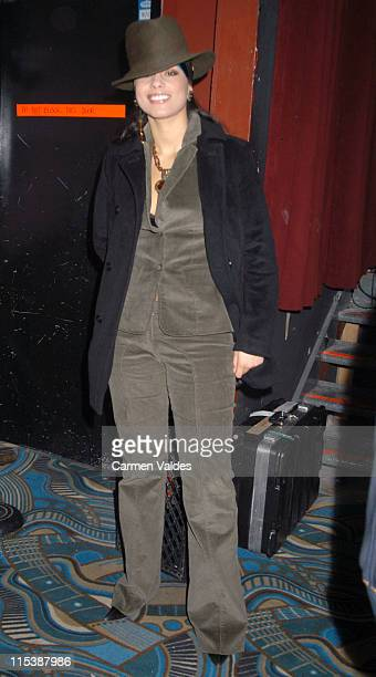 Alicia Keys during NY Idol Hosted by Alicia Keys at BB King's Blues Club Grill in New York City New York United States