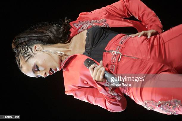 Alicia Keys during Rock In Rio Lisboa Day 6 at Belavista Park in Lisbon Belavista Park Portugal