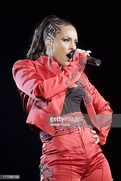 Alicia Keys during Rock In Rio Lisboa Day 6 at Belavista Park in Lisbon Portugal