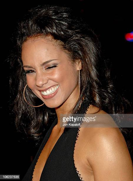 Alicia Keys during 'Smokin' Aces' Los Angeles Premiere Arrivals at Grauman's Chinese Theater in Hollywood California United States