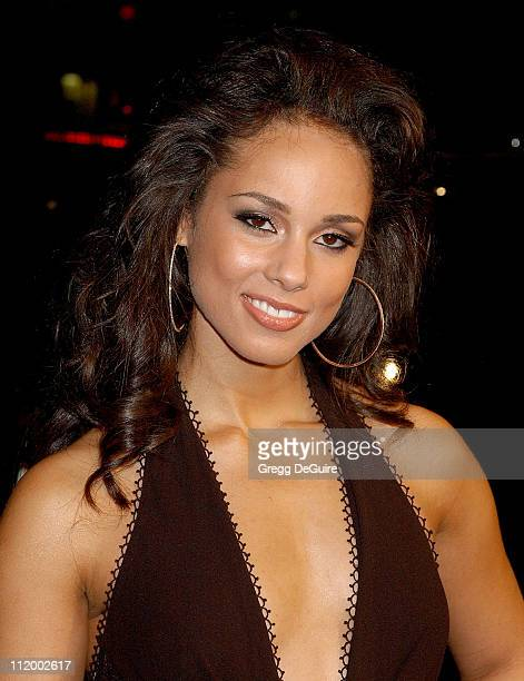Alicia Keys during 'Smokin' Aces' World Premiere Arrivals at Grauman's Chinese Theatre in Hollywood California United States