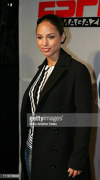 Alicia Keys during Super Bowl XXXIX ESPN The Magazine's NEXT Issue Party at The NEXT House in Jacksonville Florida United States