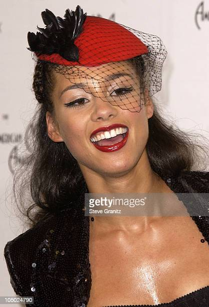 Alicia Keys during The 29th Annual American Music Awards Press Room at The Shrine Auditorium in Los Angeles California United States
