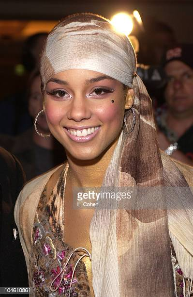Alicia Keys during The 44th Annual GRAMMY Awards Clive Davis PreGRAMMY Party at Beverly Hills Hotel in Beverly Hills California United States