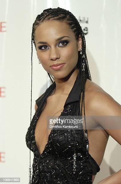 Alicia Keys during The Black Ball Hosted by Alicia Keys and Benefiting the Keep a Child Alive Foundation Arrivals at Jazz at Lincoln Center in New...
