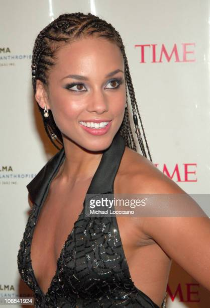 Alicia Keys during The Black Ball Hosted by Alicia Keys and Benefiting the Keep a Child Alive Foundation at Frederick P Rose Hall at Jazz at Lincoln...