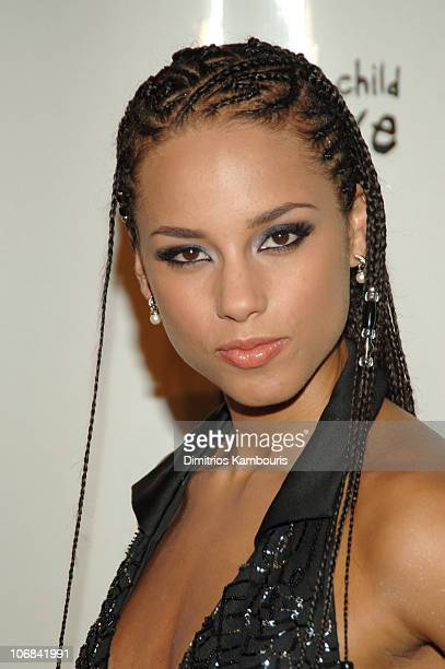 Alicia Keys Cornrows Photos And Premium High Res Pictures