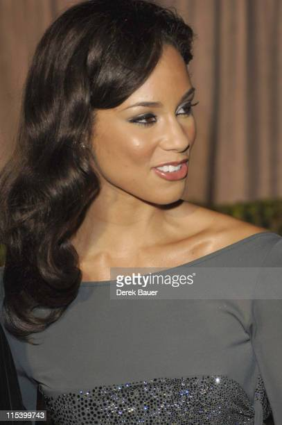 """Alicia Keys during Walt Disney Pictures and Jerry Bruckheimer Films' Premiere """"Glory Road"""" at Pantages Theatre in Hollywood, California, United..."""