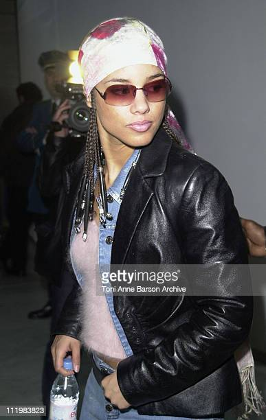 Alicia Keys during World Music Awards 2002 Arrivals at Monte Carlo Sporting Club in MonteCarlo Monaco