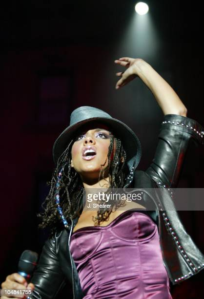 Alicia Keys in Concert during Alicia Keys in Concert Northern California at Chronicle Pavilion in Concord California United States