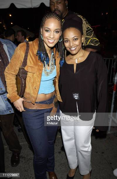 Alicia Keys Kim Fields during LIFEBeat's Urban AID 2 Benefit Concert at Beacon Theater in New York City New York United States