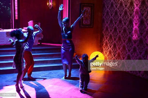 Alicia Keys on the set of her video 'Girl On Fire' at the George Lucas StudioShepperton Studios on October 012012 in SheppertonLondon