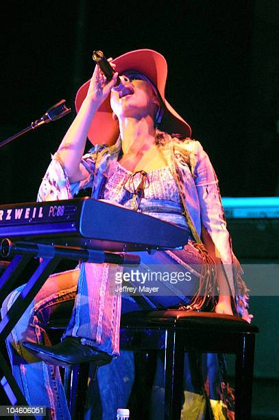 Alicia Keys performing at the Wiltern Theatre in Los Angeles California United States