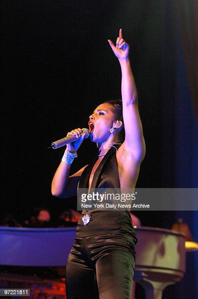 Alicia Keys performs at Radio City Music Hall