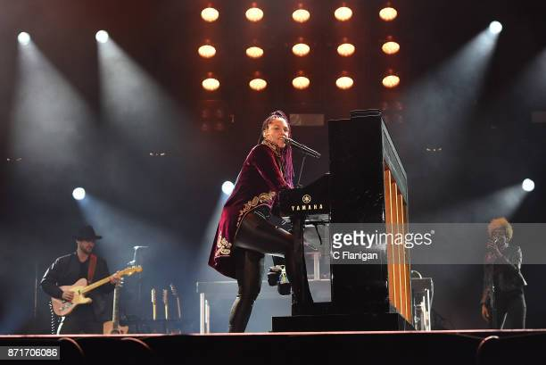 Alicia Keys performs during the 8th Annual Concert For UCSF Benioff Children's Hospital at ATT Park on November 7 2017 in San Francisco California