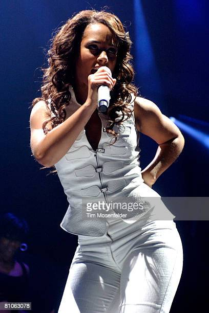 Alicia Keys performs in support of her 'As I Am' release at Arco Arena on May 11 2008 in Sacramento California
