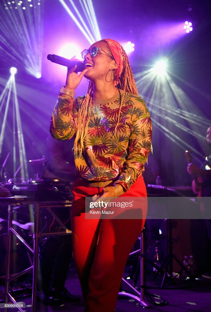 Alicia Keys performs onstage during Apollo in the Hamptons 2017: hosted by Ronald O. Perelman at The Creeks on August 12, 2017 in East Hampton, New York.
