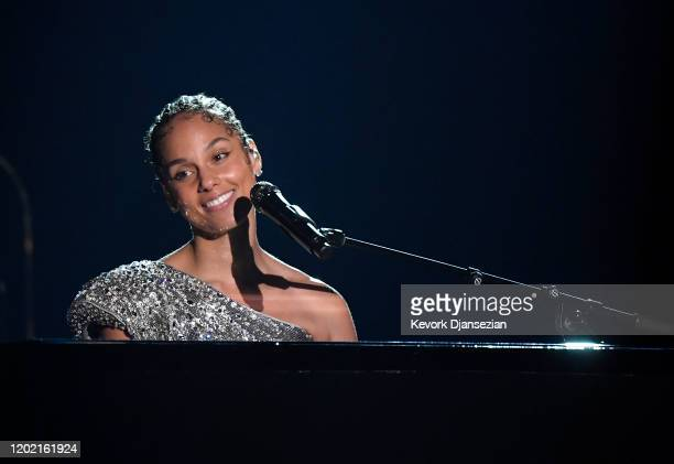 Alicia Keys performs onstage during the 62nd Annual GRAMMY Awards at Staples Center on January 26 2020 in Los Angeles California