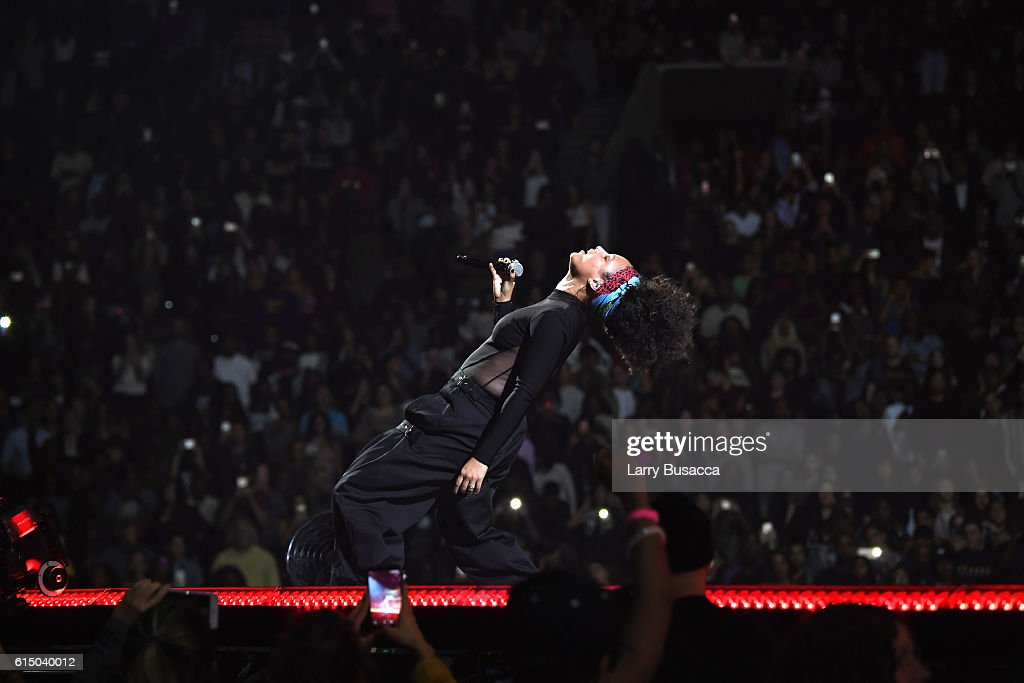 Alicia Keys performs onstage during